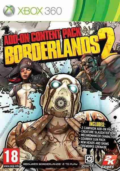 Descargar Borderlands 2 Addon Pack [MULTI][PAL][XDG2][iNSOMNi] por Torrent